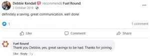 Debbie Kendall recommends Fuel Round